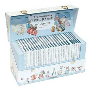 'The World of Peter Rabbit' boxed set of books