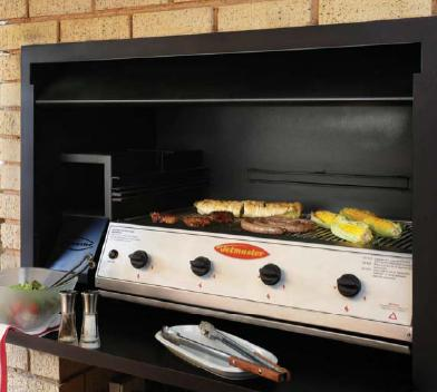 Built-in braai option by Jetmaster (Image: Jetmaster.co.za)